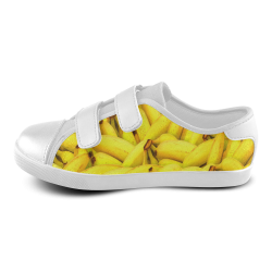 Bananas Velcro Canvas Kid's Shoes (Model 008)