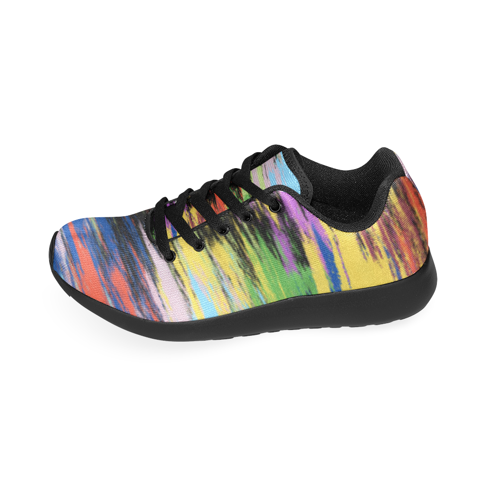 Colorful Painting Women's Running Shoes (Model 020)