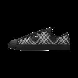 Checks002Q Aquila Microfiber Leather Women's Shoes (Model 028)