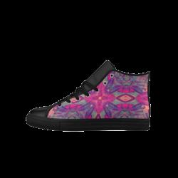 mandala Aquila High Top Microfiber Leather Men's Shoes (Model 027)