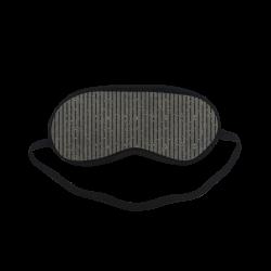 Sepia Stripe Sleeping Mask