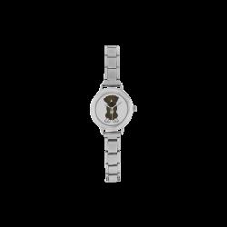 Boxer Puppy Dog Women's Italian Charm Watch(Model 107)
