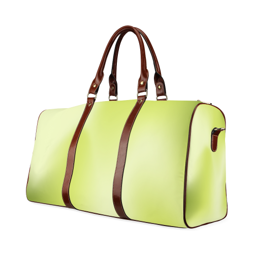 Spring Green Colour Gradient Design Waterproof Travel Bag/Small (Model 1639)