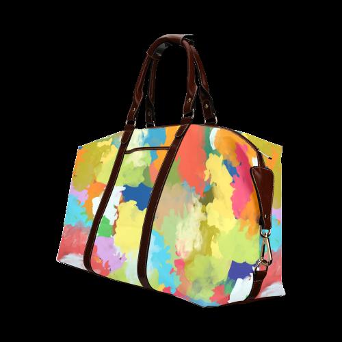 Summer Color Colorful Splash Design Classic Travel Bag (Model 1643)