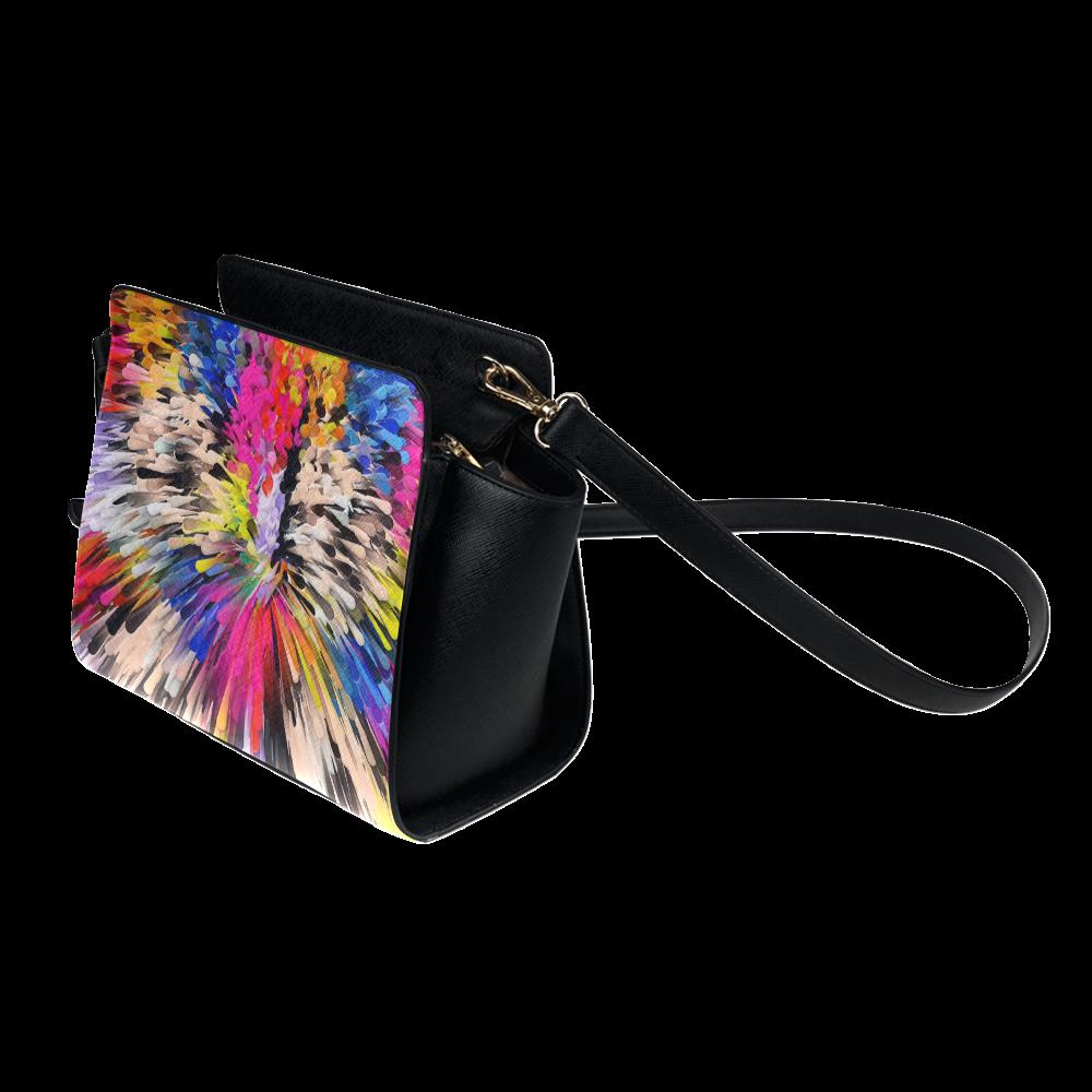 Art of Colors by ArtDream Satchel Bag (Model 1635)