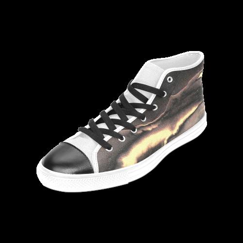 Blazing Portal - Jera Nour Women's Classic High Top Canvas Shoes (Model 017)