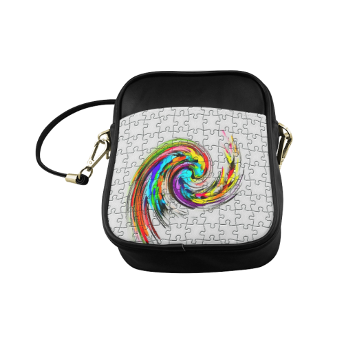 Puzzles Twister by Artdream Sling Bag (Model 1627)