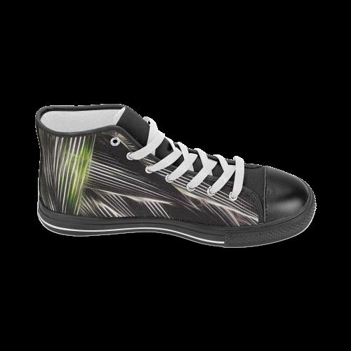 Foliage #8 - Jera Nour Women's Classic High Top Canvas Shoes (Model 017)