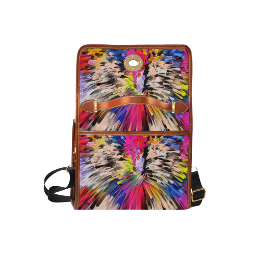 Art of Colors by ArtDream Waterproof Canvas Bag/All Over Print (Model 1641)