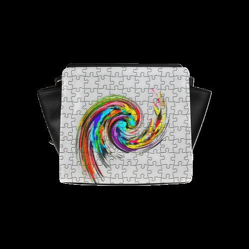 Puzzles Twister by Artdream Satchel Bag (Model 1635)