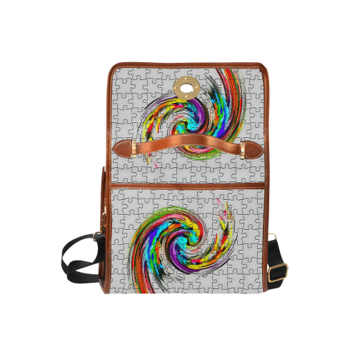 Puzzles Twister by Artdream Waterproof Canvas Bag/All Over Print (Model 1641)