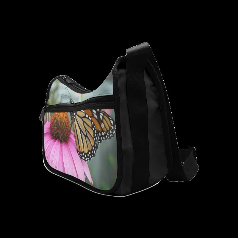 Monarch Butterfly Crossbody Bags (Model 1616)
