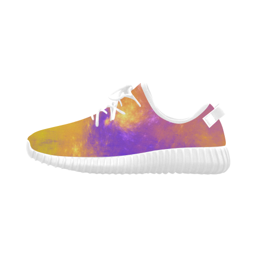 Colorful Universe Grus Women's Breathable Woven Running Shoes (Model 022)