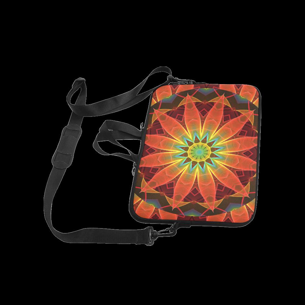 "Radiance and Light, Orange Brown Awakening Classic Sleeve for 15.6"" MacBook Air"