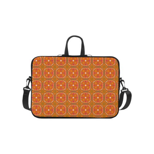 """Gingerbread Houses, Cookies, Apple Cider Abstract Laptop Handbags 10"""""""