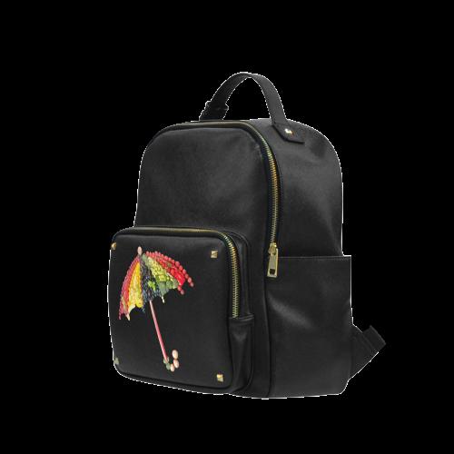 Under my Umbrella VeggieArt Vegan Campus backpack/Large (Model 1650)