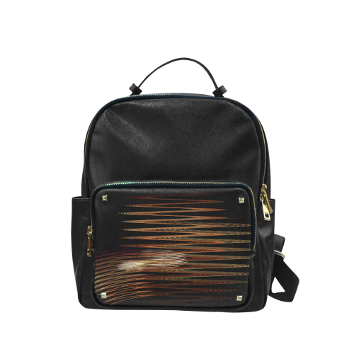 Swirly Stripes Campus backpack/Large (Model 1650)