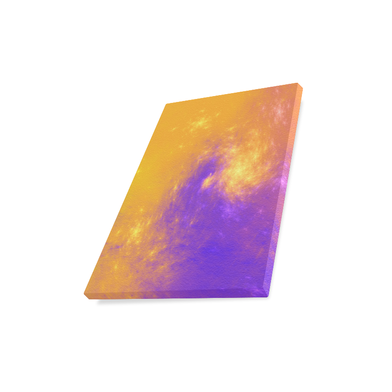 "Colorful Universe Canvas Print 11""x14"""