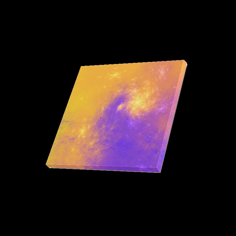"Colorful Universe Canvas Print 16""x16"""
