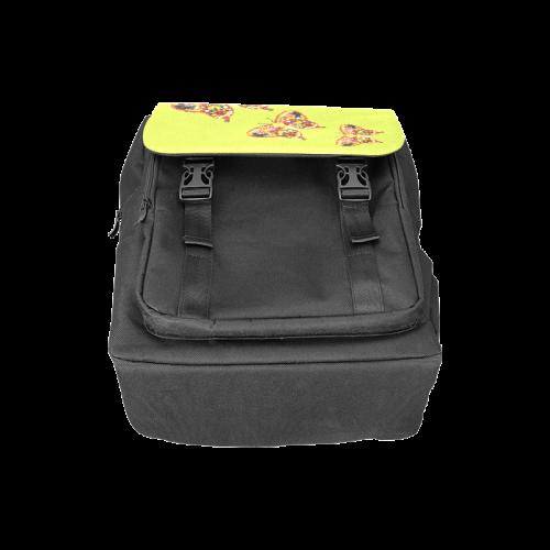 Dancing Butterflies Veggieart Vegan Casual Shoulders Backpack (Model 1623)