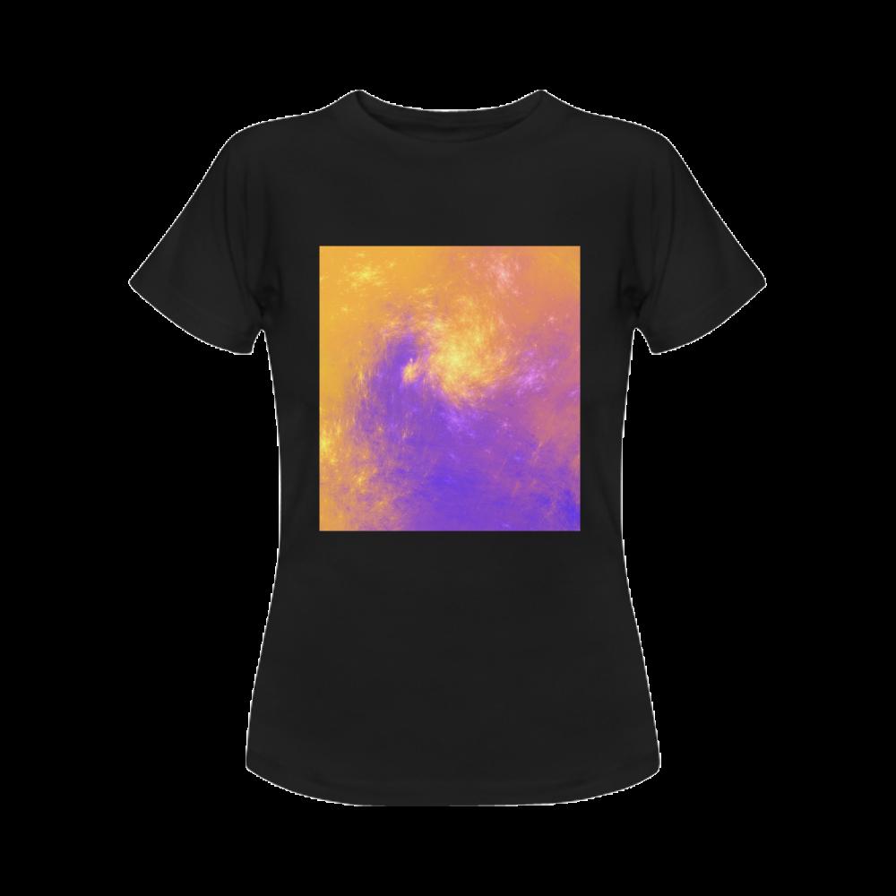 Colorful Universe Women's Classic T-Shirt (Model T17)