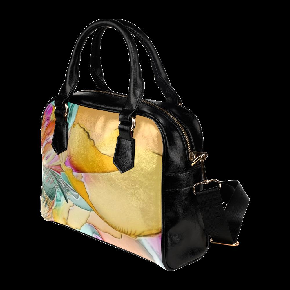 Wild Flowers by Artsdream Shoulder Handbag (Model 1634)