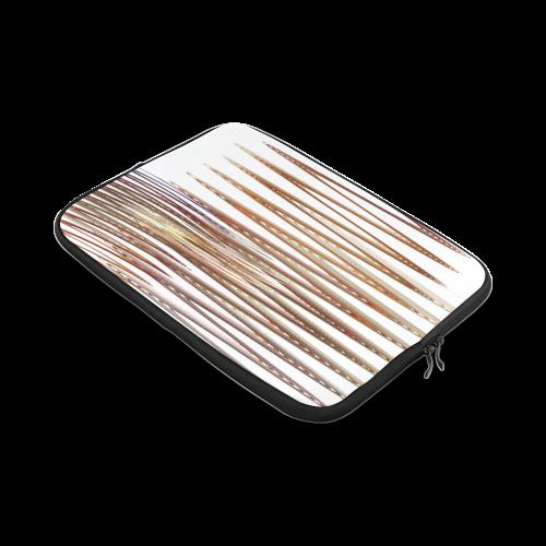 Swirly Stripes Custom Laptop Sleeve 14''