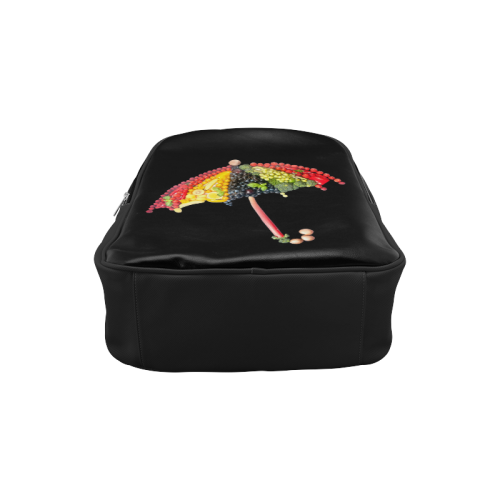 Under my Umbrella VeggieArt Vegan Popular Backpack (Model 1622)