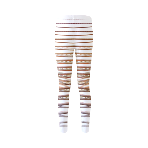 Swirly Stripes Cassandra Women's Leggings (Model L01)