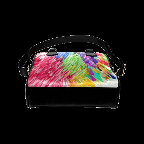 Paint splashes by Artdream Shoulder Handbag (Model 1634)