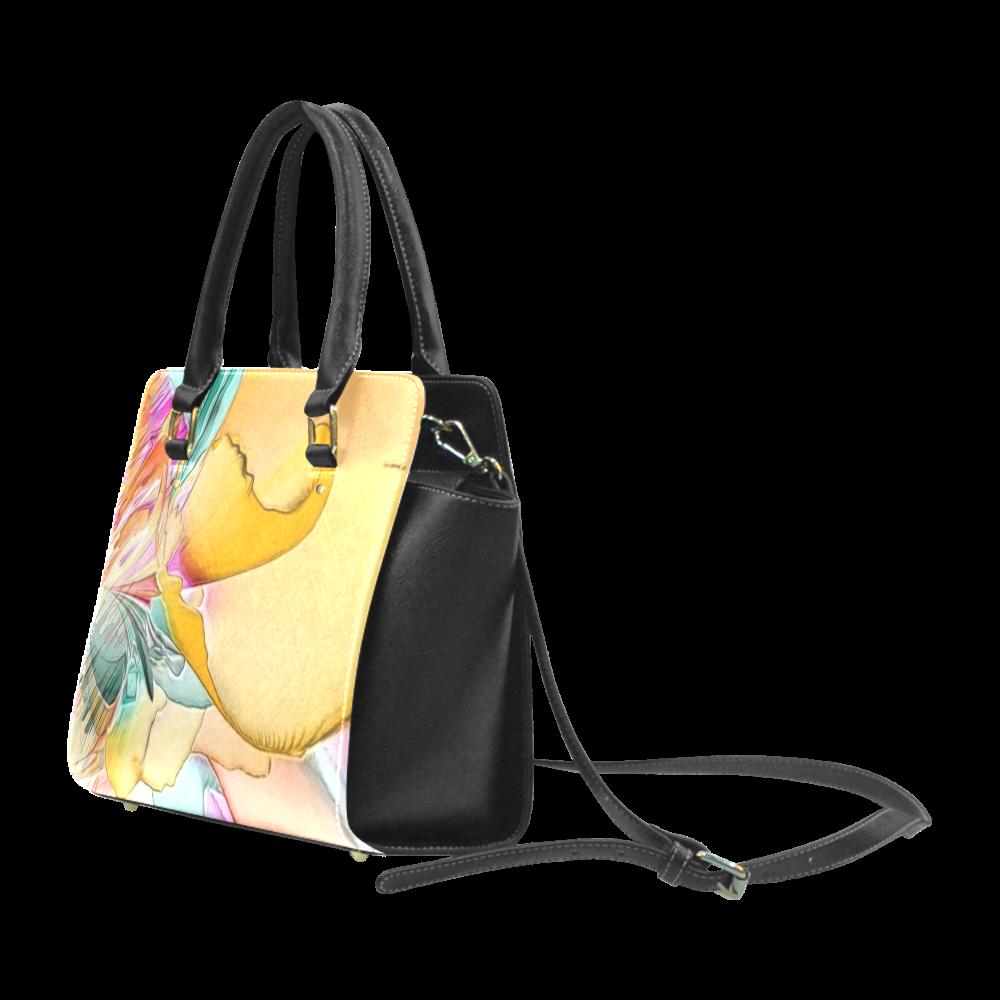 Wild Flowers by Artsdream Classic Shoulder Handbag (Model 1653)