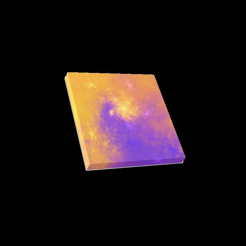"Colorful Universe Canvas Print 6""x6"""