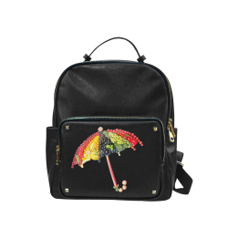 Under my Umbrella VeggieArt Vegan Campus backpack/Large (Model 1650)