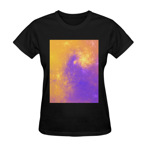 Colorful Universe Sunny Women's T-shirt (Model T05)
