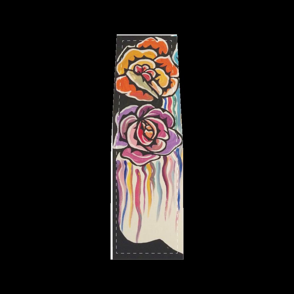 Sugar Skull Dripping Roses Saddle Bag/Small (Model 1649) Full Customization