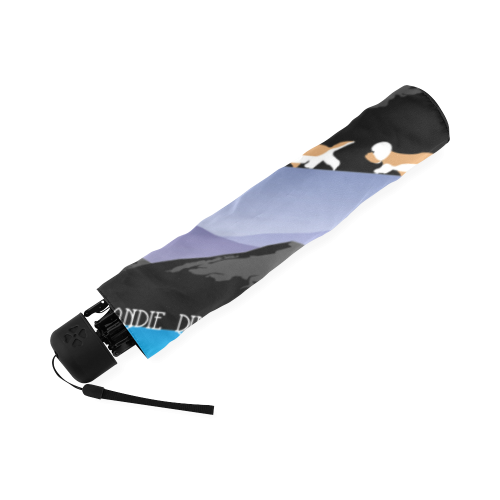 Dandie Dinmont Terrier Rockin The Rockies Foldable Umbrella (Model U01)