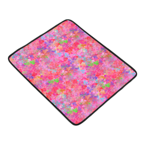 """The Pink Party Colorful Splash Beach Mat 78""""x 60"""""""