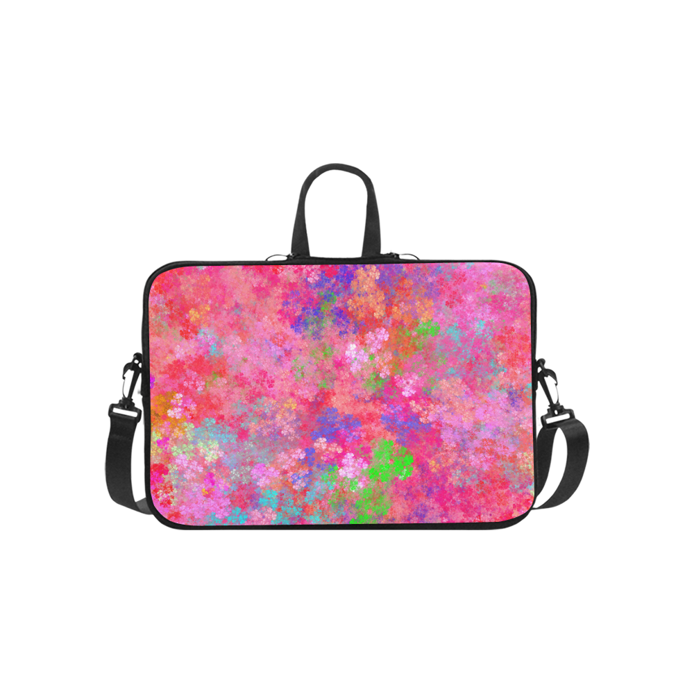 The Pink Party Colorful Splash Macbook Pro 15''