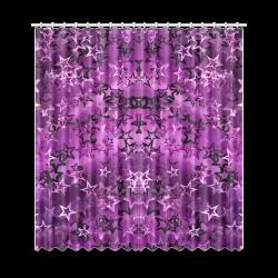 """Stars20160723 Window Curtain 50""""x108""""(Two Piece)"""