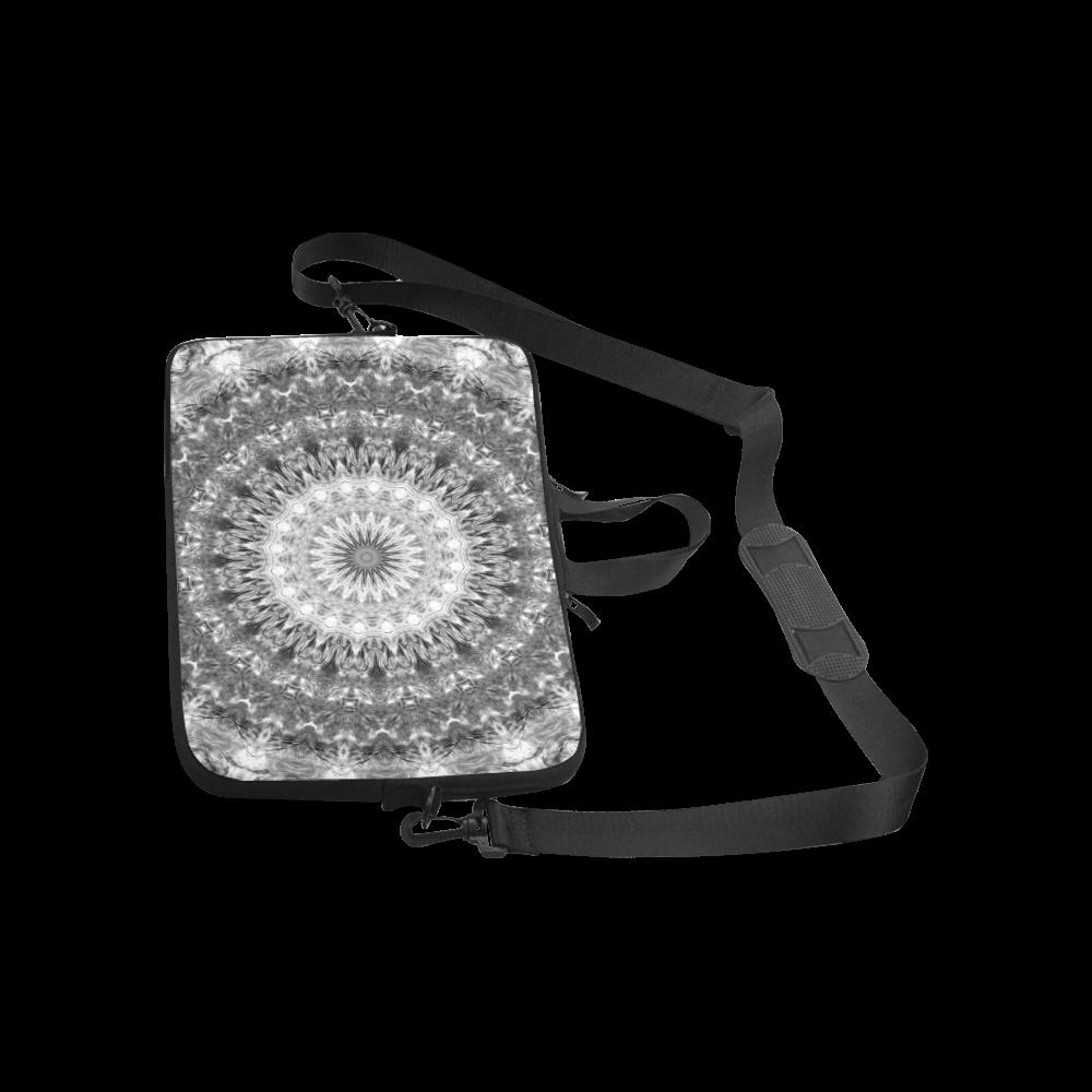 Black and White Harmony Mandala Macbook Pro 15''