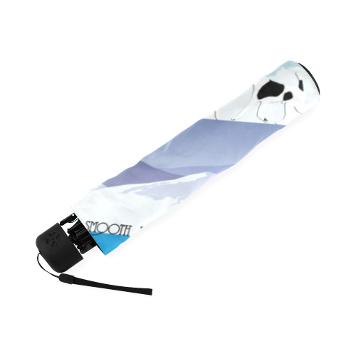 Smooth Fox Terrier Rockin The Rockies Foldable Umbrella (Model U01)