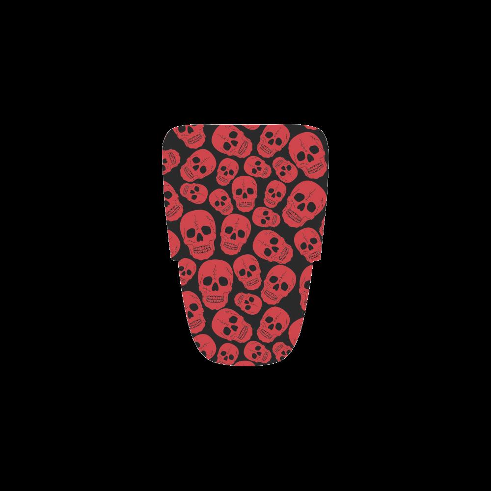 Red Skulls Women's Running Shoes (Model 020)