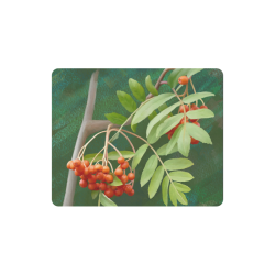 Watercolor Rowan tree - Sorbus aucuparia Rectangle Mousepad