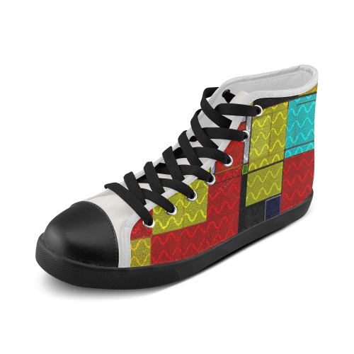 TechTile #5 - Jera Nour Men's High Top Canvas Shoes (Model 002)