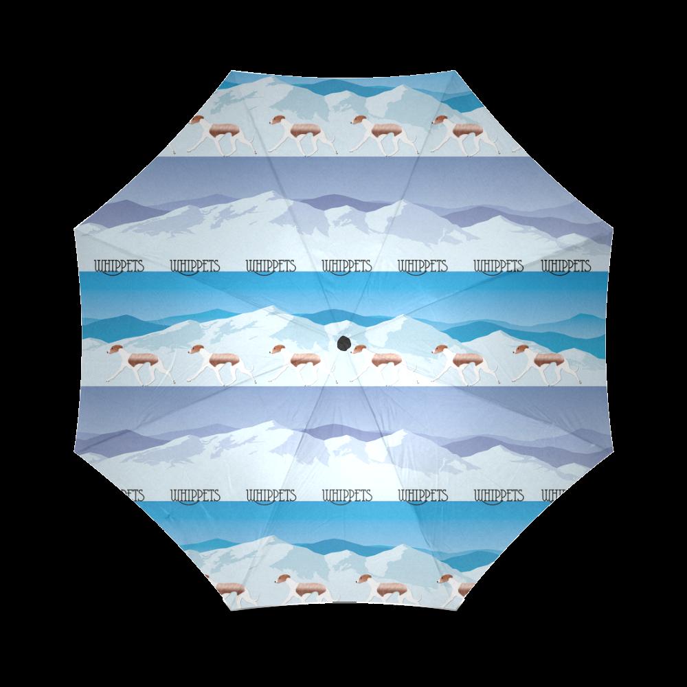 Whippets Rockin The Rockies Foldable Umbrella (Model U01)