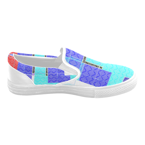 TechTile #5 - Jera Nour Men's Unusual Slip-on Canvas Shoes (Model 019)