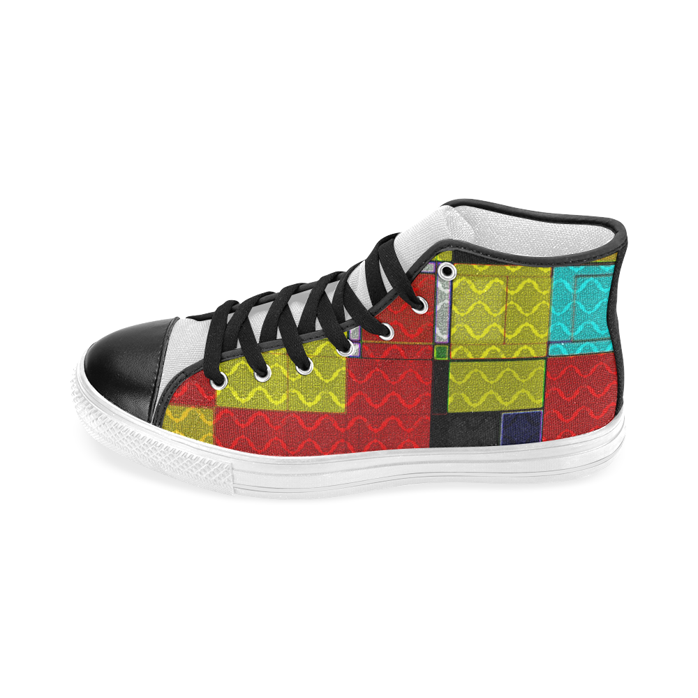 TechTile #5 - Jera Nour Men's Classic High Top Canvas Shoes (Model 017)