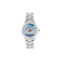 Whippets Rockin The Rockies Unisex Stainless Steel Watch(Model 103)