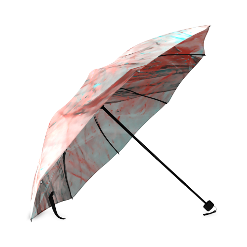 Starlight Red Shooting Star Sky Light Foldable Umbrella (Model U01)