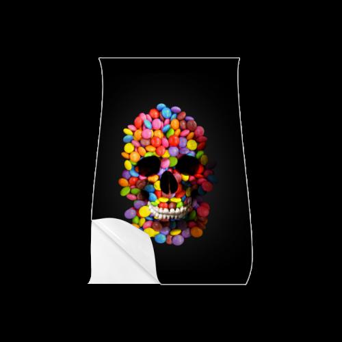 "Halloween Candy Sugar Skull Poster 11""x17"""